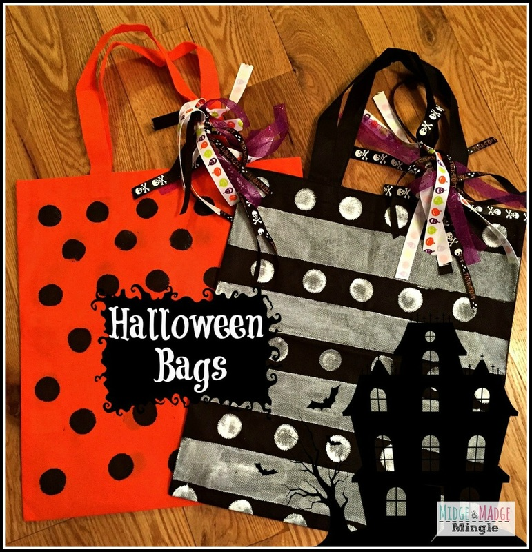 Diy Halloween Trick Or Treat Bags.Diy Halloween Trick Or Treat Bags Midge Madge Mingle